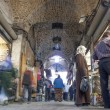 Bazaar in aleppo syria — Stock Photo