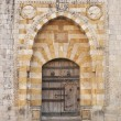 Church door near beirut lebanon - Stock Photo