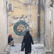 Street in aleppo syria - 