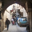 Street in damascus syria - Foto Stock