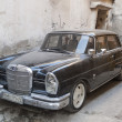 Vintage mercedes in aleppo syria - Stock Photo