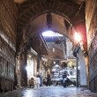 Bazaar in aleppo syria - Foto Stock