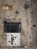 Mural in beirut lebanon — Stock Photo