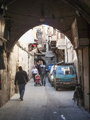 Street in damascus syria — Foto Stock