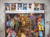 Obchod s hračkami v damašku, sýrie — Stock fotografie