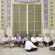 Old men socializing in yazd iran — Stock Photo #22784276