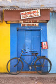 Shop on street in goa india — Stock Photo