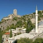 Pocitelj village near mostar in bosnia herzegovina — Stock Photo #22997278