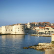 View of dubrovnik in croatia - Stock Photo