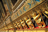 Temple in grand palace bangkok thailand — Stock Photo