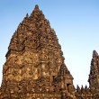 Prambanan temple in indonesia - Stock Photo