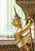 Temple in grand palace bangkok thailand — Stock Photo