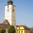 Sibiu main square in romania — Stock Photo #23153424