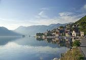 Perast village in the bay of kotor in montenegro — Stock Photo