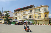 French colonial building in phnom penh cambodia — Stock Photo
