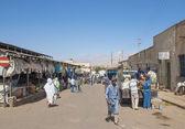 Asmara eritre'deki market sokağı — Stok fotoğraf
