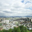 Central seoul in south korea - Stock Photo