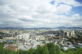 Central seoul in south korea — Stock Photo