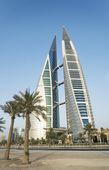 Centro de comercio mundial manama bahrain — Foto de Stock