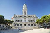 Ayuntamiento de oporto portugal — Foto de Stock