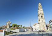 Torre Dos Clerigos Porto portugal — Stockfoto