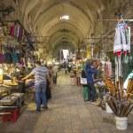 Souk market in jerusalem old town israel — Stock Photo #29736961
