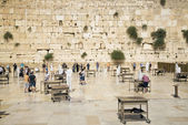 The western wall in jerusalem israel — Stockfoto