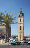 Old jaffa clocktower in tel aviv israel — Stock fotografie