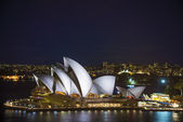 Sydney opera house in australia — Stock Photo