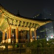 Stock Photo: Temple of central seoul south koreat night