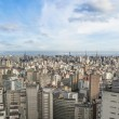 Stock Photo: Central sao paulo skyline in brazil