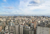Central sao paulo skyline in brazil — Stock Photo