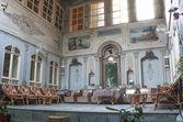 Al rabie hotel lounge interior in damascus syria — Stock Photo