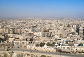 View of aleppo city in syria — Stock Photo