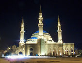 Mohammad al-Amin mosque in central beirut lebanon — Stock Photo