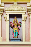 Hindu temple gods in kuala lumpur in malaysia — Stock Photo