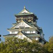 Stock Photo: Osakcastle landmark in japan