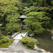 Stock Photo: Traditional japanese landscaped garden in kyoto japan