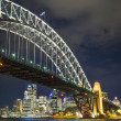 Sydney harbour bridge in australia — Stock Photo