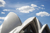 Sydney opera house detail in australia — Stock Photo