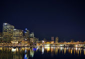 Darling harbour in sydney australië — Stockfoto