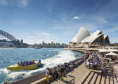 Sydney harbour in australia by day — Stock Photo