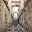 Street in jerusalem old town israel — Stock Photo
