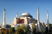 Hagia sophia mosque landmark in instanbul turkey — Stock Photo