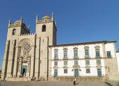 Porto se cathedral in portugal — Stock Photo