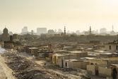 City of the dead slum in cairo egypt — Stock Photo