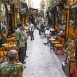 Souk market cafe in cairo egypt — Stock Photo #33693809