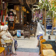 El fishawy cafe in cairo souk egypt — Stock Photo #33693991