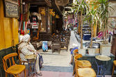 El fishawy cafe in cairo souk egypt — Foto Stock