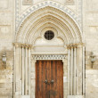 Mosque door in cairo old town egypt — Stock Photo